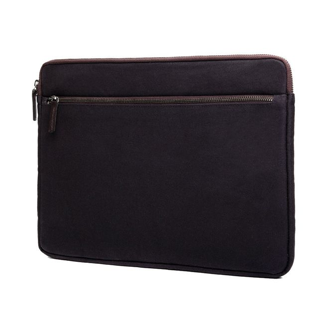 CECILIA Waxed Cotton Laptop Hülle Sleeve Tasche zB für Apple Macbook Pro MFD1239 Bild 2