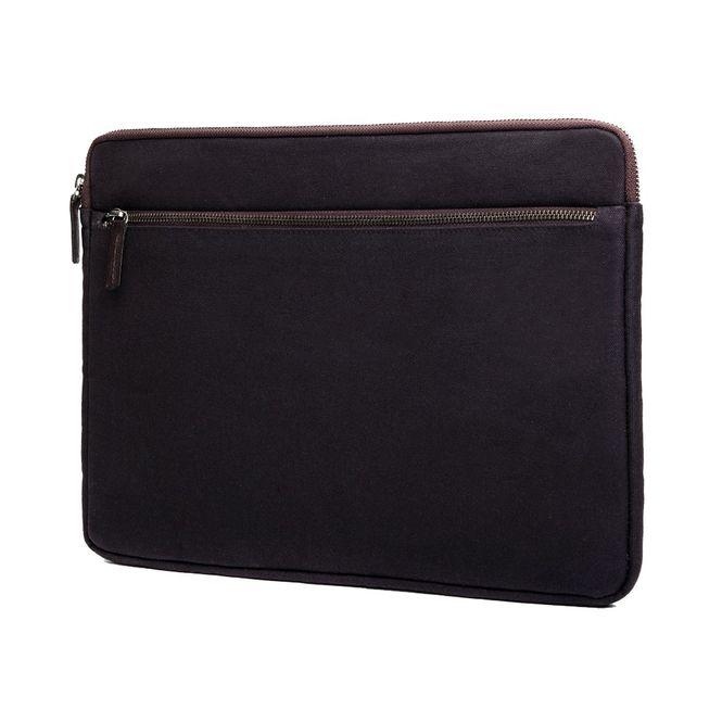 CECILIA Waxed Cotton Laptop Hülle Sleeve Tasche zB für Apple Macbook Pro MFD1239 Bild 2
