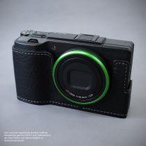 LIM'S Alu Leder Halbtasche Tasche Kameratasche für Ricoh GR II bzw. 2 / RC-GR2BK Bild 4
