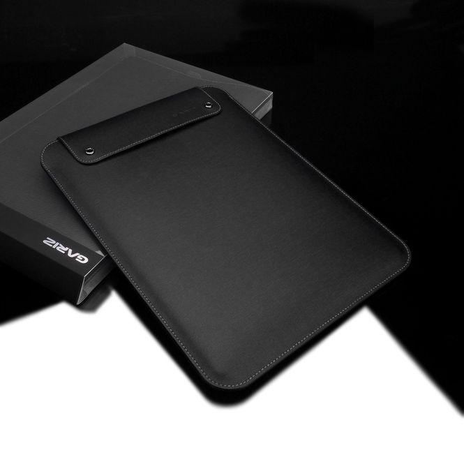 GARIZ Hülle Ledertasche Case Sleeve Tasche für Apple IPad Pro / PL-IPDPBK
