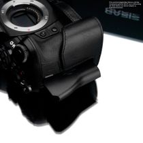 GARIZ real leather designer half case for Olympus E‑M10 Mark II / XS-CHEM10IIBK Bild 5