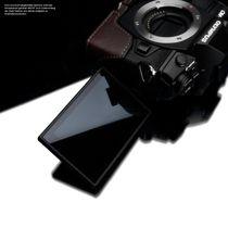 Stylische Kameratasche aus braunem Leder für Olympus OM-D E‑M1 Mark II von GARIZ Bild 6
