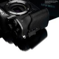 GARIZ real leather designer half case for CANON EOS M camera ( XS-CHMBR ) Bild 6