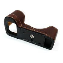 Kamera-Tasche Leder für Sony Alpha A7II A7R II A7S Mark II | Braun | von Lim's Bild 1