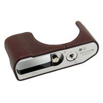 GARIZ real leather designer half case for Panasonic Lumix DMC-LX100 XS-CHLX100BK Bild 1