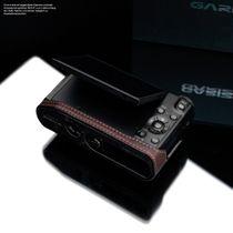 GARIZ real leather designer half case for Panasonic Lumix DMC-LX100 XS-CHLX100BK Bild 5