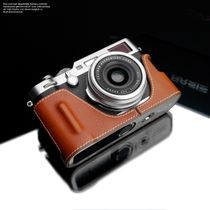 GARIZ real leather designer half case for Fuji FinePix X-T2 ( XS-CHXT2NV ) Bild 2