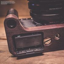 Kamera Handgriff für Fuji Fujifilm X-T10 handgefertigt in USA aus Walnuss Holz Bild 2