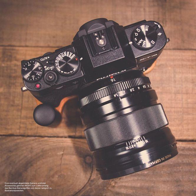 GARIZ leather designer half case for Sony Alpha A7 II A7R Mark II / XS-CHA7IIBK Bild 6