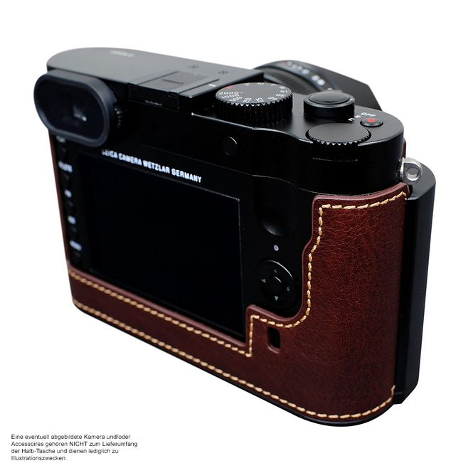 GARIZ BLACK-LABEL real leather half case for LEICA M ( Typ 240 ) / BL-LCMBK Bild 5