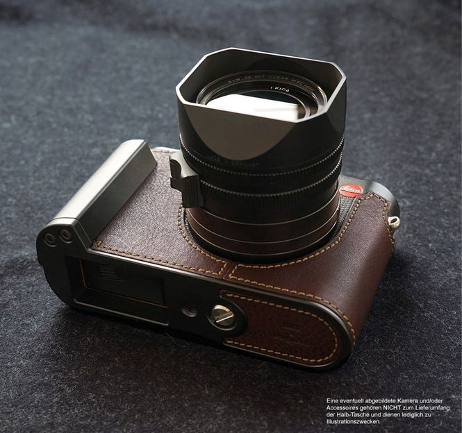 GARIZ BLACK-LABEL real leather half case for LEICA M ( Typ 240 ) / BL-LCMBK Bild 6