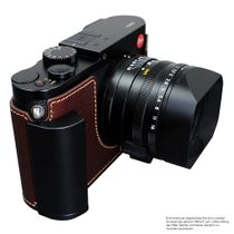 GARIZ BLACK-LABEL real leather half case for LEICA M ( Typ 240 ) / BL-LCMBK Bild 4