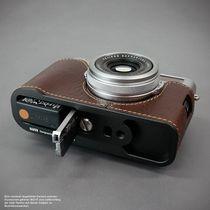 Kameratasche aus Leder für Fuji Fujifilm Finepix X100F in Braun von Lims Design Bild 4