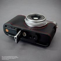 Fototasche aus Leder für Fuji Fujifilm Finepix X100F in Schwarz von Lims Design Bild 4