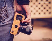 Kameragriff Bodenschutz für Sony A7 III ILCE-7M3 Alpha 7R III A7R III A9 |Bambus Bild 3