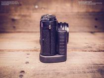 Kamera Handgriff für Fujifilm Fuji X100 X100s handgefertigt aus Walnuss Holz Bild 6