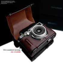 GARIZ real leather protection cover for Sony DSC-RX100 II half case XA-CCRX100IIBR2 Bild 3