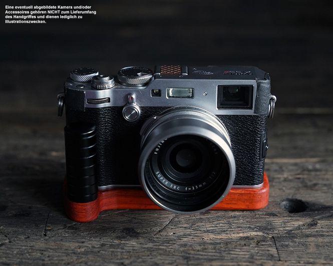 Kameragriff für Fuji Fujifilm X100F | J.B. Camera Designs | Padouk Korallenholz  Bild 5