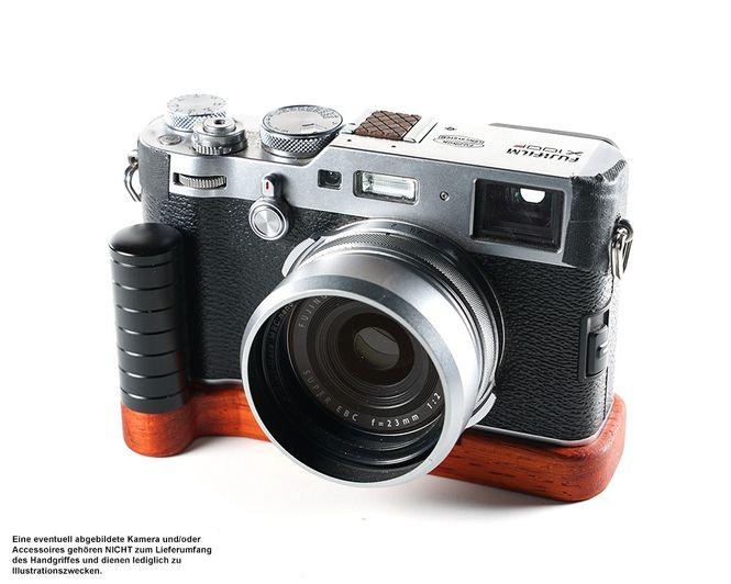 Kameragriff für Fuji Fujifilm X100F | J.B. Camera Designs | Padouk Korallenholz  Bild 3
