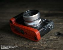 Kameragriff für Fuji Fujifilm X100F | J.B. Camera Designs | Padouk Korallenholz  Bild 4