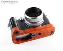 GARIZ leather designer half case for Sony Alpha A7 II A7R Mark II / XS-CHA7IIBK Bild 1