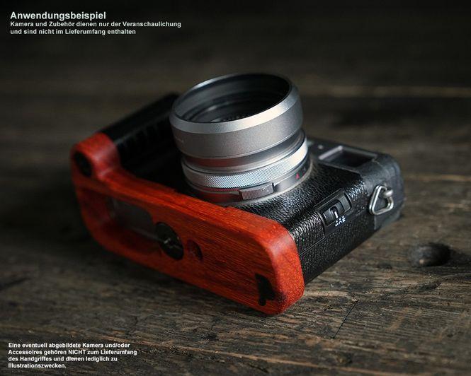 Kamera Handgriff für Fuji Fujifilm X-Pro2 aus Padouk Holz | JB Camera Designs Bild 5