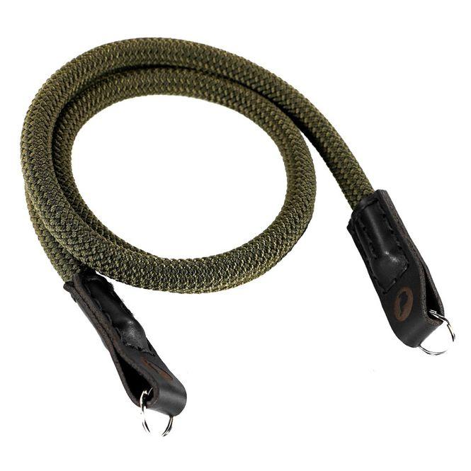 Kamera Tragegurt aus Seil | Khaki Grün | JB Camera Designs |Made in Oklahoma USA Bild 2