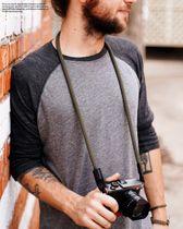 Kamera Tragegurt aus Seil | Khaki Grün | JB Camera Designs |Made in Oklahoma USA Bild 3