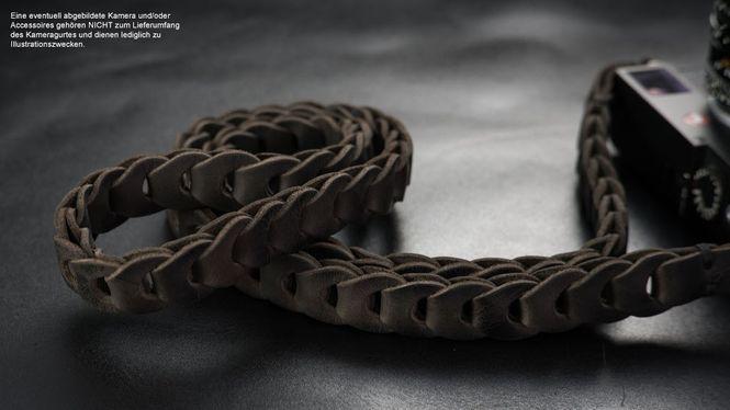 Kamera Tragegurt aus Leder | Asch Braun | Rock n Roll Camera Straps Zypern |Gr.S Bild 4