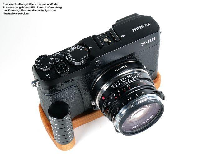 Kamera Handgriff für Fujifilm X-E3 | JB Camera Designs | Bambus | Made in USA Bild 4