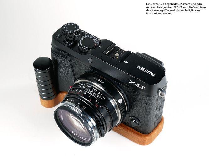 Kamera Handgriff für Fujifilm X-E3 | JB Camera Designs | Bambus | Made in USA Bild 6