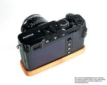 Kamera Handgriff für Fujifilm X-E3 | JB Camera Designs | Bambus | Made in USA Bild 3