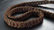 Schultergurt für Kamera aus Leder in Zigarren Braun von Rock n Roll Straps |Gr.L Bild 1