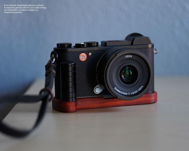 JB Camera Designs Kameragriff für Leica CL | Padouk Holz | Handmade in USA Bild 9