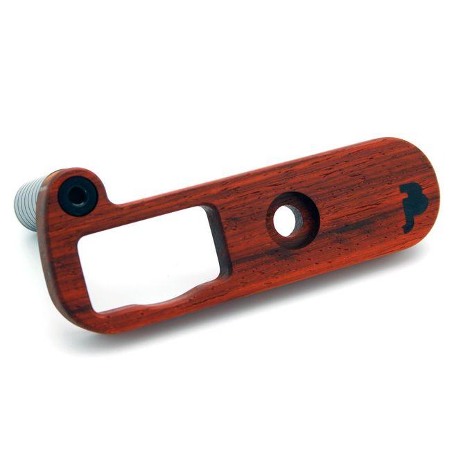 JB Camera Designs Kameragriff für Leica CL | Padouk Holz | Handmade in USA