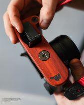 JB Camera Designs Kameragriff für Leica CL | Padouk Holz | Handmade in USA Bild 4