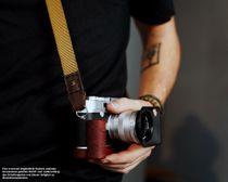 Kamera Tragegurt aus Nylon | JB Camera Designs USA | Khaki Braun | Handmade Bild 2