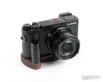Kamera Handgriff für Panasonic GX9 Systemkamera | JB Camera Designs | aus Holz Bild 2