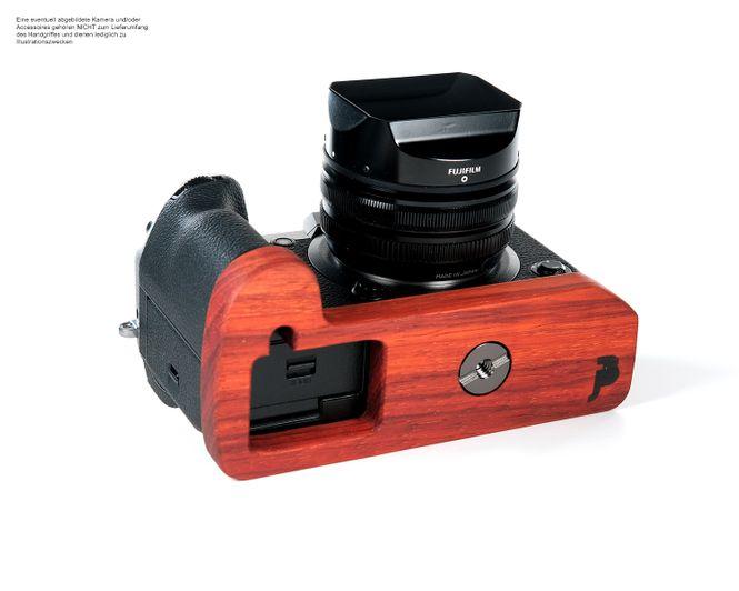 Kamera Handgriff für Fujifilm X-H1 bzw. Kameraschutz | JB Camera Designs | Holz Bild 1