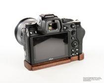 GARIZ leather designer half case for Sony Alpha A7 II A7R Mark II / XS-CHA7IIBK Bild 2