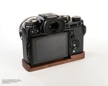 Kameragriff für Fuji Fujifilm X-T3 XT3 aus Walnuss Holz | JB Camera Designs Bild 2
