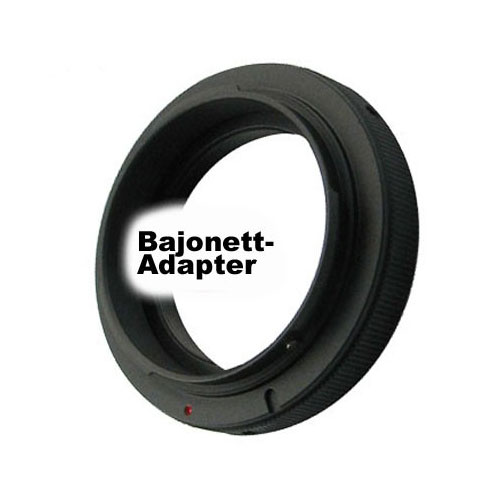 SIOCORE Lens Adapter T2 Bayonet to Canon EOS camera