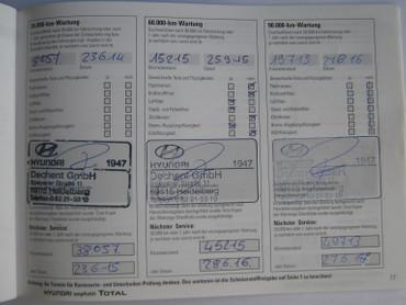 Hyundai, WINTERREIFEN, KLIMAANLAGE, UNFALLFREI, SCHECKHEFT GEFLEGT, 1.HAND,  – Bild 5