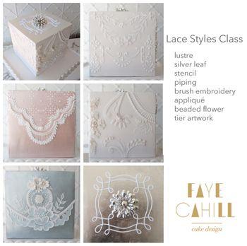 Master Class Faye Cahill - Lace Cube - Würfel mit Spitze und Blattsilber am 10.05.19 – Bild 1