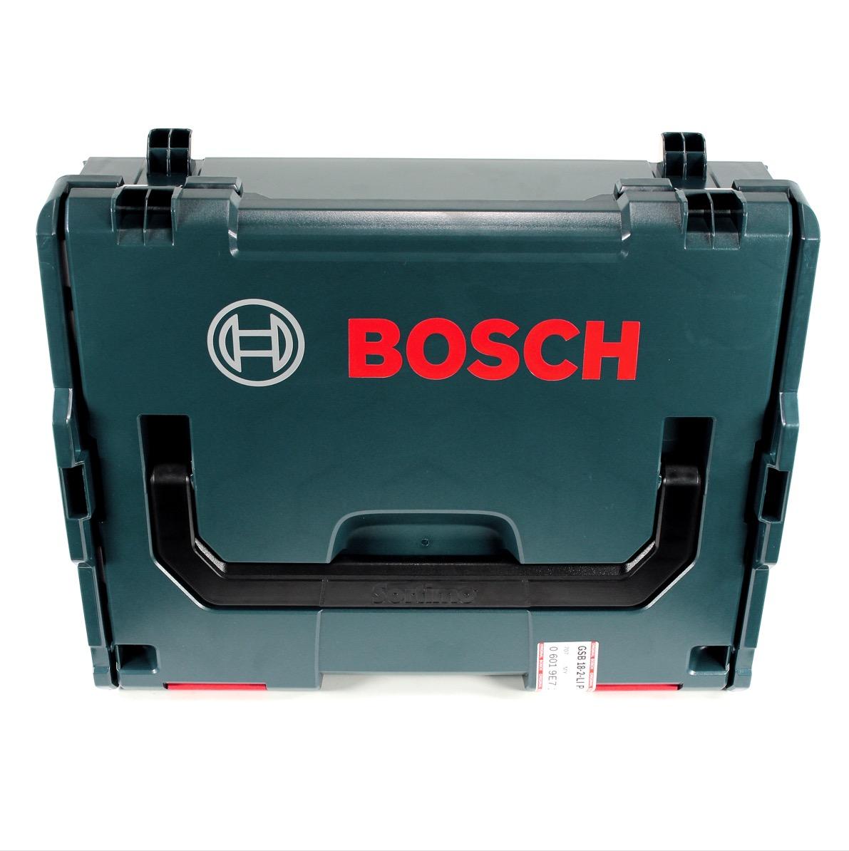 bosch gsb 18 2 li plus akku schlagbohrschrauber l boxx 2x 6 ah akku lader ebay. Black Bedroom Furniture Sets. Home Design Ideas