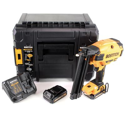 Bostitch BTCN 110 D2 Brushless 18 V Cloueur Brads 18GA en Coffret TStak VI + 2x Batteries 2,0 Ah + Chargeur – Bild 2