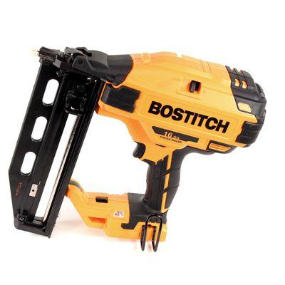 Bostitch BTCN 120 M2 Brushless 18 V Akku 16GA Stauchkopfnagler mit 2 x 4,0 Ah Akku + Ladegerät in TStak VI Box – Bild 3