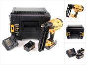 Bostitch BTCN 120 M2 Brushless 18 V Akku 16GA Stauchkopfnagler mit 2 x 4,0 Ah Akku + Ladegerät in TStak VI Box