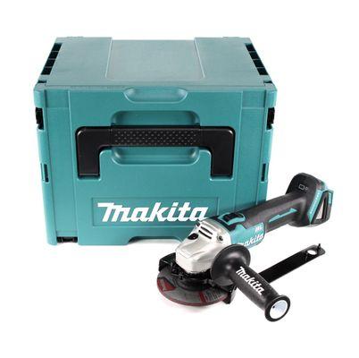 Makita DGA 504 ZJ 18 V Meuleuse sans fil Ø 125 mm brushless avec Boîtier de transport MAKPAC - sans Batterie ni Chargeur – Bild 2