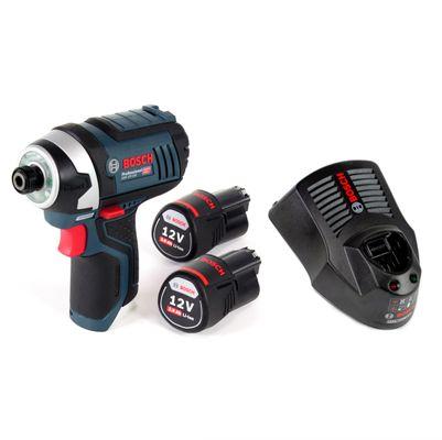 Bosch GDR 12V-105 Professional Visseuse à chocs sans fil + 2x Batteries GBA 12 V 3,0 Ah + Chargeur GAL 1230 – Bild 2